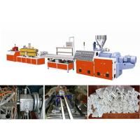 Quality Complete PVC Windows / Door Frame Making Machine WPC Profile Production Line for sale