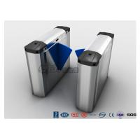 Quality 316 Stainless Steel Heavy Duty Automatic Flap Barrier Turnstile For Entrance & Exit Control System for sale