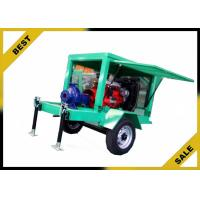 China Movable Water Cooled Diesel Powered Water Pump With Two Wheels OEM wholesale