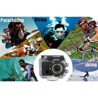 Quality Outdoor Extreme Sports WiFi Full HD Action Camera 30M Waterproof with 1050mAh for sale