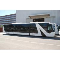 China Professional 77 Passenger 13 Seat Airport Transfer Bus With Aluminum Apron wholesale