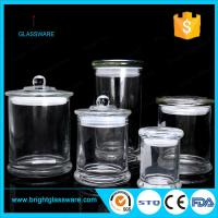 Buy cheap 3oz 8oz 12oz glass candle jar in stock, best quality clear metro glass jar from wholesalers