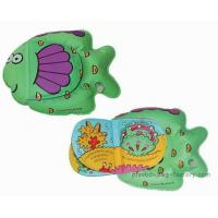 China Lovely Fish Shaped Waterproof Baby Books Easy Controlling For Playing on sale
