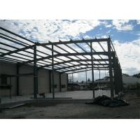 China Single Span Steel Frame Warehouse Construction Fast Constructed For Industry wholesale