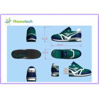 China Sneaker Customized USB Flash Drive File Transfer , Personalized Flash Drives outdoor sport shoes wholesale