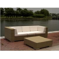 China Hotel furniture rattan modular sofa --9145 wholesale