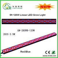 China IP44 High BrightnessLinear Grow Lights For Indoor Plants , PPMA Cover wholesale