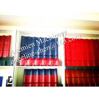 China plastic PVC multi-colors and patterns glazed roof tile wholesale