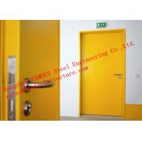 China European Standards Steel Fire Resistant Single Door For Household or Office Use on sale