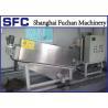 China Industrial Volute Dewatering Screw Press Machine Effluent Treatment Equipment wholesale