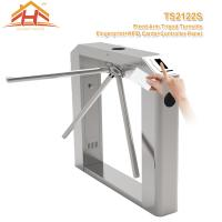 China Semi Automatic Tripod Barrier Gate , 3 Arm Turnstile No Exposed Screws Or Fasteners wholesale