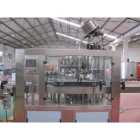 Beer / Beverage Glass Bottle Filling Machine , Automated Bottling Equipment