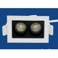 Buy cheap Double Head Led Recessed Downlight Laser Blade 4w Anti Glare 4000k Cct from wholesalers