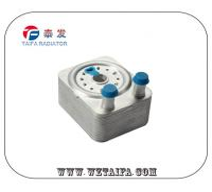 China Original Diesel Performance Oil Cooler , 038 117 021 B Auto Oil Cooler VW Parts wholesale