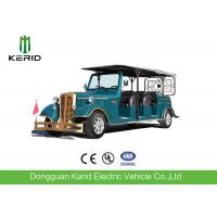 Buy cheap 11 Seater Electric Vintage Cars , 7.5KW Sightseeing Electric Tourist Bus With AC System from wholesalers
