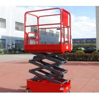 China Norrow 8m Self Propelled Scissor Lift Self Propelled Aerial Work Platform on sale