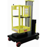 China Single Mast Self Propelled Elevating Work Platforms For Indoor Maintenance Service wholesale