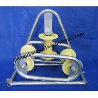 China Tray Type Sheaves,Triangle Sheave Cable Guide,Cable Feeding Sheaves wholesale