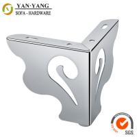 China 100mm high hollow out furniture leg modern sofa leg cabinet leg with flower pattern SL-090 wholesale