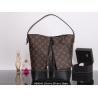 China Louis Vuitton M94545 Old flower skin blue&red women large bag - shoulder hand bag wholesale