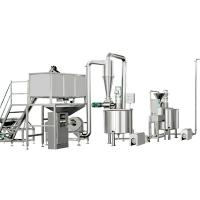 China φ1150*2070mm Cereal Production Line , Corn Flakes Making Machine wholesale