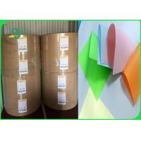 Buy cheap Width 61 × 86cm feel good bright colors 80gsm 90gsm Colored offfset paper in from wholesalers