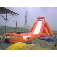 China Professional 56m Hippo Large Inflatable Slide For Adults Water Resistant wholesale
