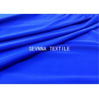 Solid Dyed Colors Spandex Blended Recycled Swimwear Fabric High Stretch Recovery Comfort Power Micro Fiber