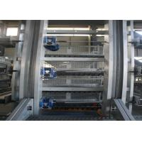 China High Strength Layer Poultry Farming Equipment Cross - Opening Door Design wholesale