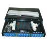 China SC Slidable Odf Optical Fiber 19 Rack Mount  to Fiber Optic Termination Box wholesale