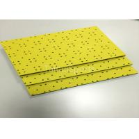 China Children Safety Playground HIC Rubber Shock Pad No Absorbing Water Yellow wholesale