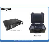 China 25W High Power Maritime Transmitter and Receiver Long Distance 35km Low Delay wholesale