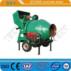 China Bridges Project JZC 350A 14m3/H Industrial Concrete Mixer wholesale