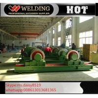 China Fit Up And Assembly Pipe Welding Rotator , Manual Adjustable Welding Turning Roller HGK40 wholesale