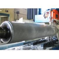 Buy cheap 2 Ply Single Facer Chrome Plated or Tungsten Carbide Corrugated Rollers from wholesalers