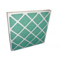 China Electronic Furance Pleated Panel Air Filters Performance With Cardboard Frame G4 wholesale