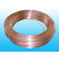 China Steel Evaporator Tube 6.35 × 0.65 mm Copper Coated Round Non - Secondary wholesale