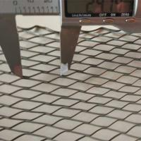 """China V Ribs Galvanized Expanded Metal Mesh for Flooring 27"""" X 84"""" wholesale"""