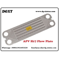 China CHINA SUPPLIER H17 100% REPLACEMENT FREE FLOW STAINLESS STEEL/TITANIUM PLATE FOR APV GASKET PLATE HEAT EXCHANGER on sale