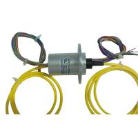China 12 Circuits Slip Ring Integrated with Fiber Optic Rotary Joint for Material Conveying System wholesale