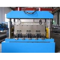 China Metal Floor Deck Roll Forming Machine , Skyscrapers Field Sheet Metal Roll Former wholesale