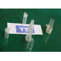Quality High Precision Injection Molding / Tansparent Medical Injection Molded Part for sale