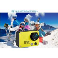 "China 60 Meters Waterproof Sports Action Camera 1080P 4GB ~ 32GB High Definition 2.0"" LCD Screen wholesale"
