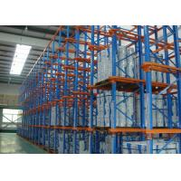 Quality Industrial Warehouse Drive In Pallet Rack For High Density Storage for sale