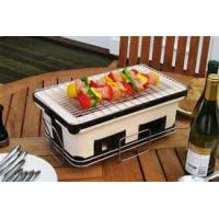 China ST25 BBQ home use Barbecue Set Japanese charcoal ceramic BBQ grill wholesale