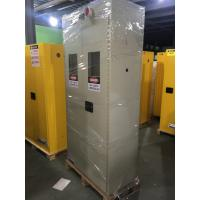 China Metal Fireproof Storage Cabinet For Storing Gas Oxygen / Paint / IBC Drum wholesale