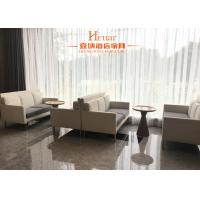 China Modern Commercial Hotel Furniture , Leisure Sofa Chair With Metal Leg Fabric Upholstery wholesale