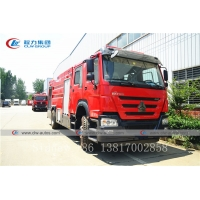 Buy cheap Dongfeng 153model 4X2 6000liters 6cbm Water Tank Fire Fighting Truck from wholesalers