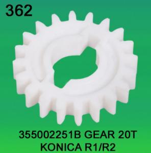 China 355002251B / 3550 02251B GEAR TEETH-20 FOR KONICA R1,R2 minilab wholesale