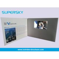 China Multi Player Automatic Video Gift Card Video Leather Production Business Cards wholesale